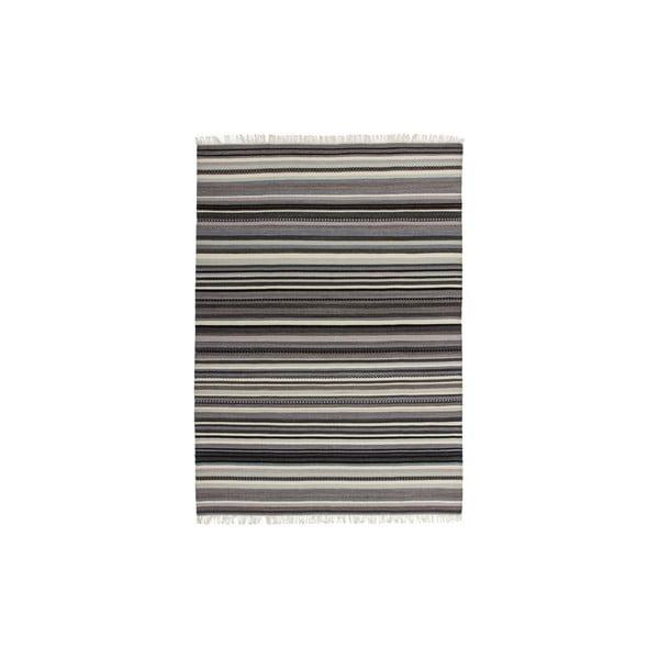 Vlnený koberec Atacama 120x170 cm, sivý
