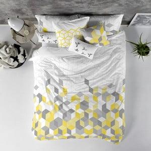 Balvnená obliečka na paplón Blanc Symmetry, 240×220 cm