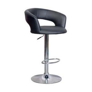 Barová stolička C328, čierna