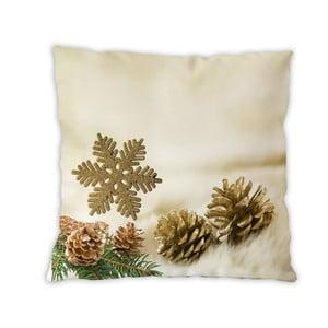 Obojstranný bavlnený vankúšik Forest Christmas, 40×40 cm