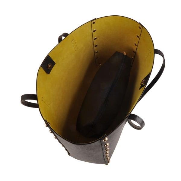 Kabelka Classe Regina Black Yellow T 102