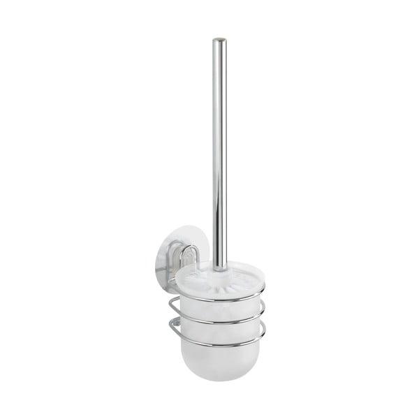Samodržiaci nástenný stojan s toaletnou kefou Wenko Static-Loc