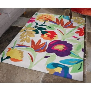 Koberec Flair Rugs Bird Of Paradise Cream/Multi, 120 x 170 cm