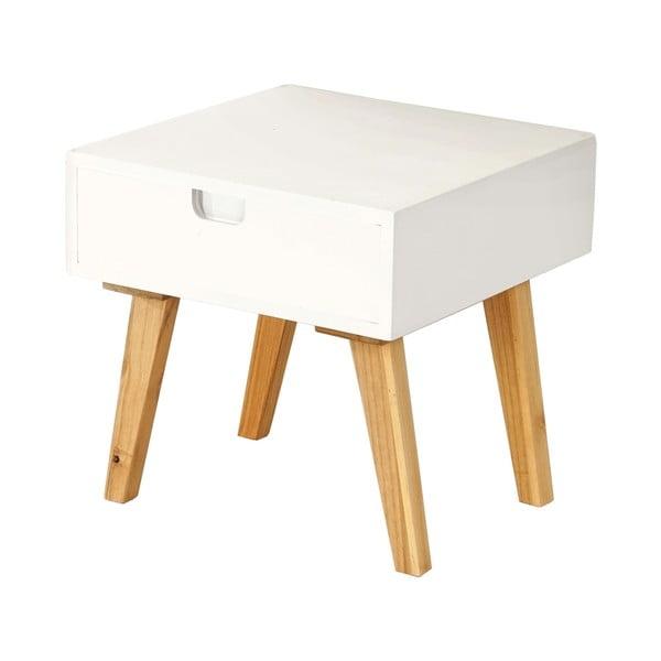 Konferenčný stolík Vaasa White, 40x40 cm