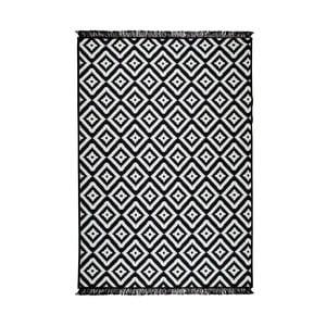 Čierno-biely obojstranný koberec Homedebleu Helen, 120×180cm