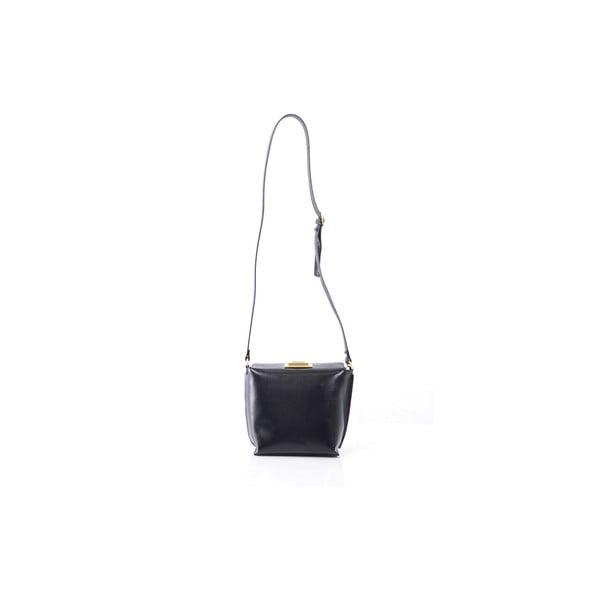 Kožená kabelka Tracy, čierna