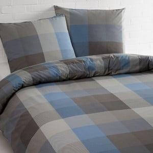 Bavlnené posteľné obliečky Ekkelboom Phil Blue, 140 x 200 cm