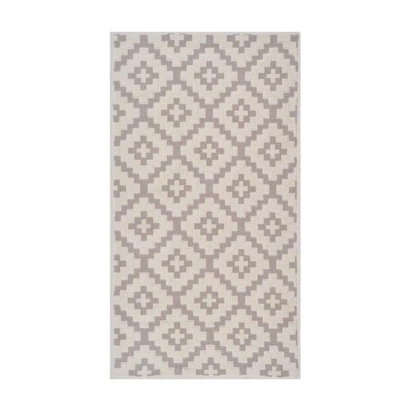 Odolný bavlnený koberec Vitaus Art Bej, 80×150cm