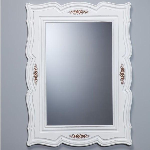 Nástenné zrkadlo Country White