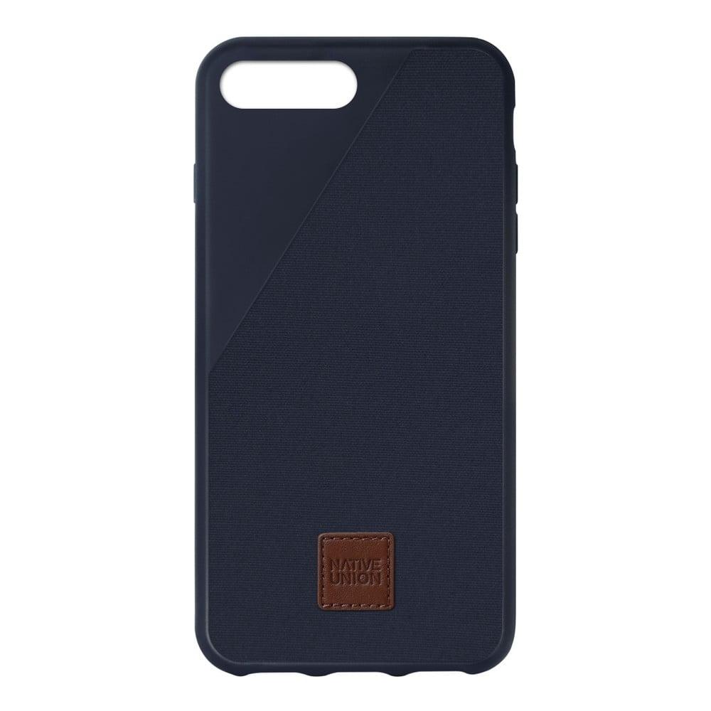 Tmavomodrý obal na mobilný telefón pre iPhone 6 a 6S Plus Native Union Clic 360 Case