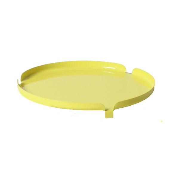 Podnos k stoličke Centro, žltý