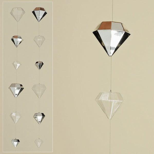 Sada 2 girlánd Diamond