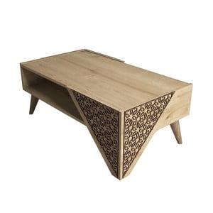 Konferenčný stolík Beril Oak, šírka 105 cm