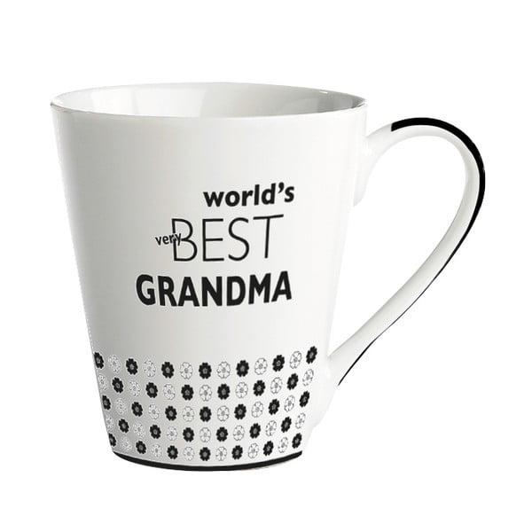 Porcelánový hrnček KJ Collection World's best grandma