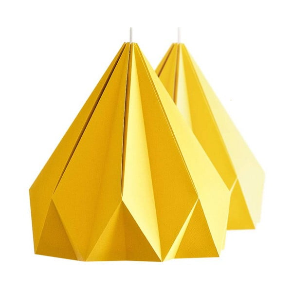 Origamica luster Spring Light For Two Sunny Orange