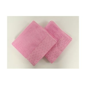 Sada 2 uterákov Yeni Pink, 50x90 cm