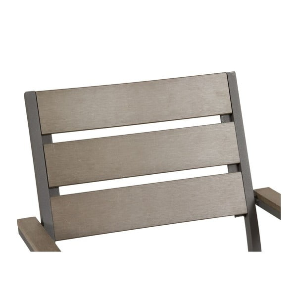 Záhradný stôl a 4 stoličky Lorca Grey