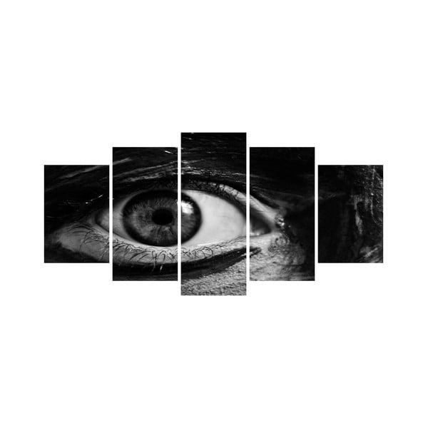 Viacdielny obraz Black&White no. 32, 100x50 cm