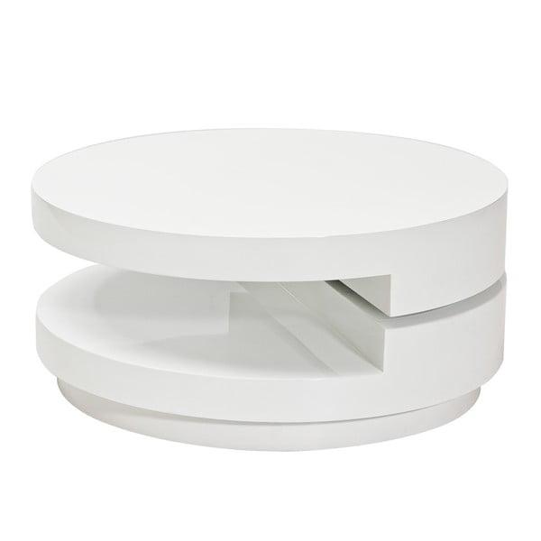 Konferenčný stolík Fabiola, biely