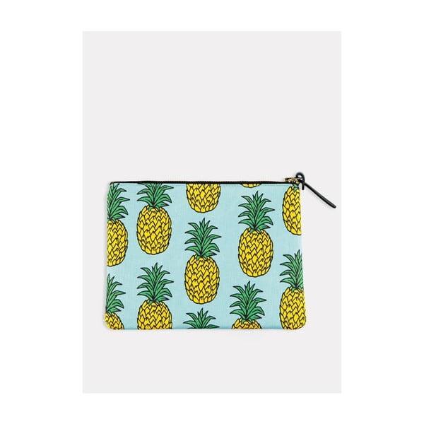 Listová kabelka/kozmetická taštička Pineapple L