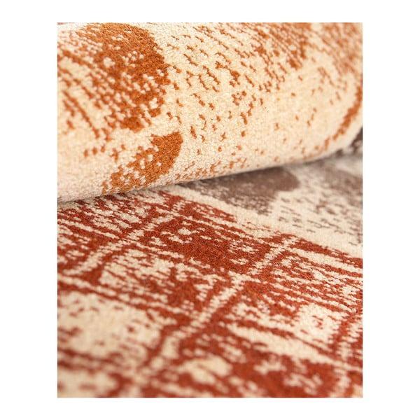 Vlnený koberec Coimbra 183 Caldera, 67x200 cm