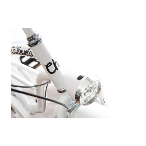 Bicykel Chillovelo Pure White