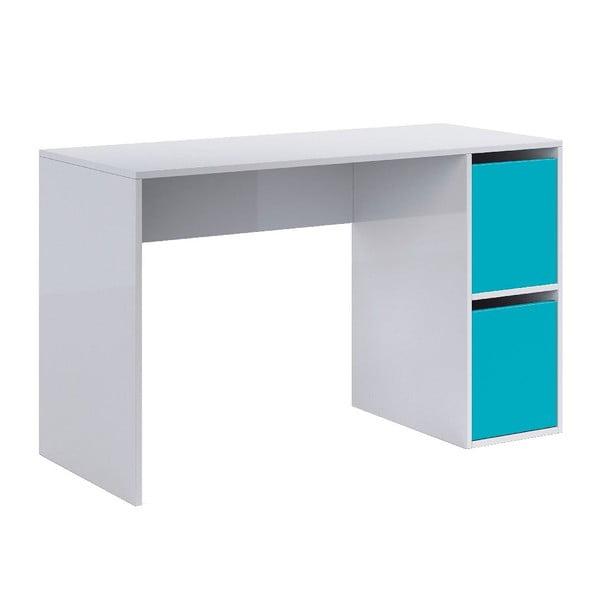 Modro-biely pracovný stôl 13Casa Hesse