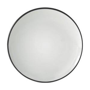 Čierny dezertný tanier Price & Kensington Cosmos, 20 cm