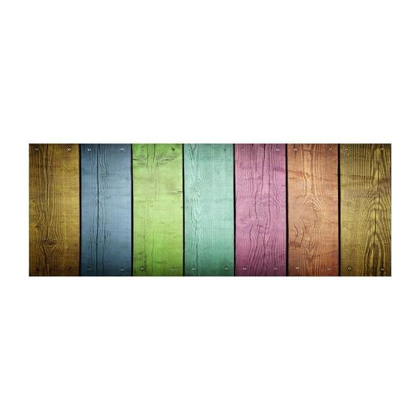 Vinylový koberec Tablas Colores, 50x140 cm