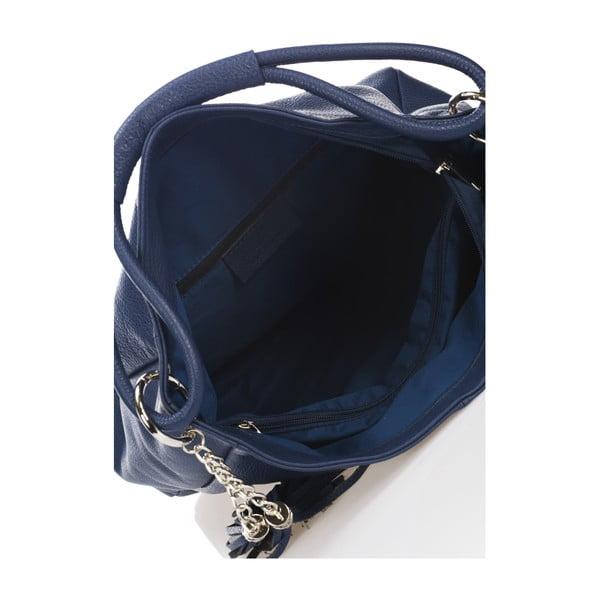 Kožená kabelka Markese 5008 Navy