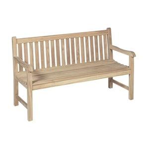 Záhradná trojmiestna lavica z teakového dreva ADDU Solo