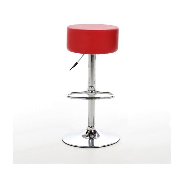 Barová stolička Dumpling, červená