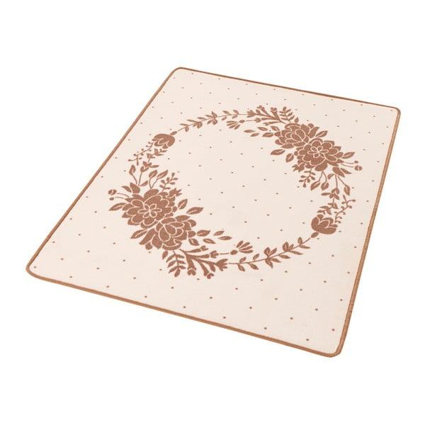 Detský béžový koberec Zala Living Blossom, 100 × 140 cm