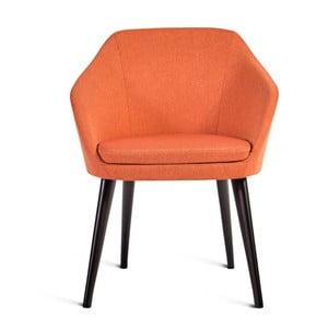 Oranžová stolička Charlie Pommier S