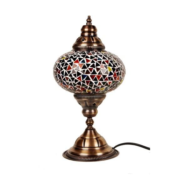 Sklenená lampa Homemania Oriental, ⌀17cm