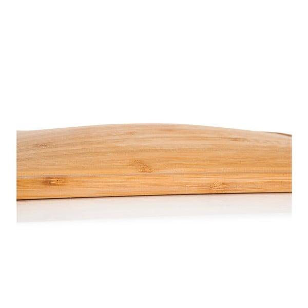 Bambusová servírovacia doštička Bambum Bombitalau, dĺžka 20 cm