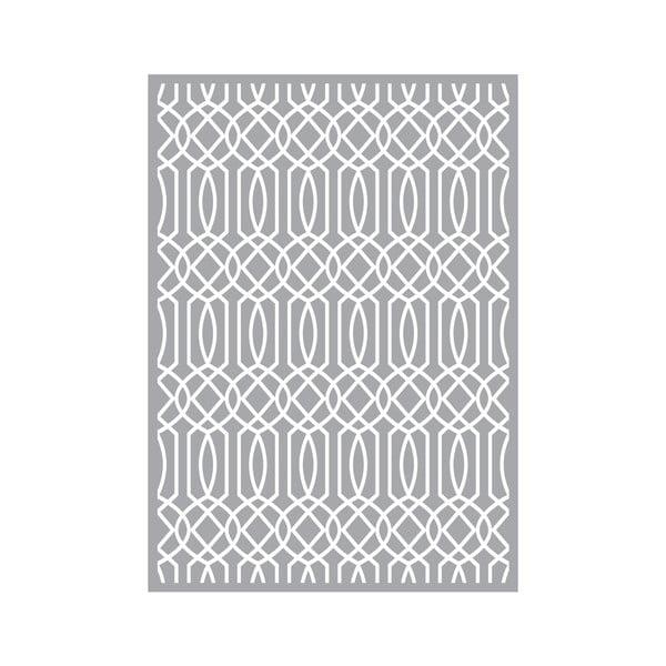 Koberec z vinylu Semitono Gris, 100x140 cm