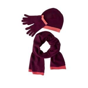 Sada čiapky, šálu a rukavíc Codello Poetry Grunge