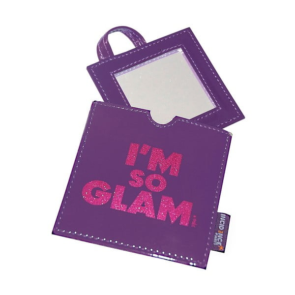 Vreckové zrkadielko Glam Glittered