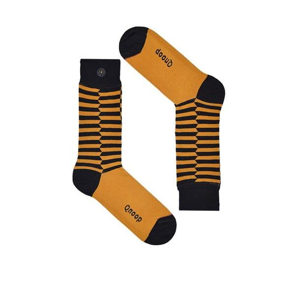 Ponožky Qnoop Linear Skewed Oak, veľ. 43-46