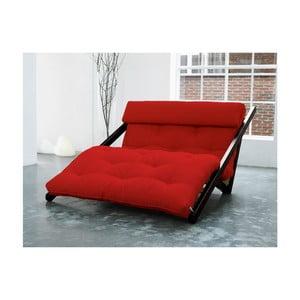 Leňoška Karup Figo, Wenge/Red, 120 cm