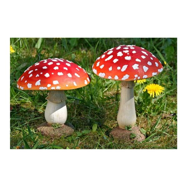 Sada 2 dekorácií Boltze Mushroom