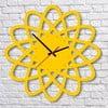 Nástenné hodiny Yellow Elipse