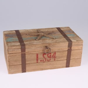 Drevená krabica Dakls Sea Star