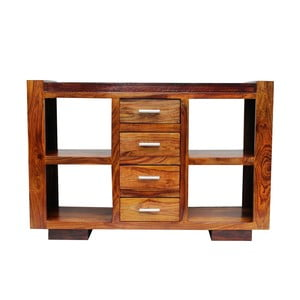 Konzolový stolík z palisandra Indigodecor, 120x80 cm