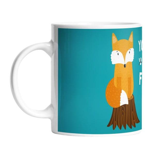Keramický hrnček So Foxy, 330 ml