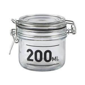 Sklenená dóza s vekom KJ Collection Jar, 200ml