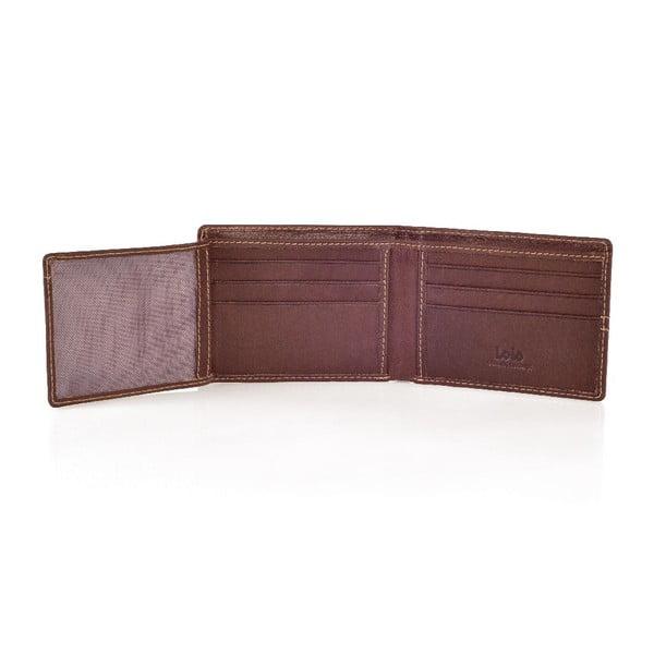 Kožená peňaženka Lois Hazel, 11x8 cm