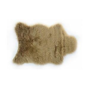 Kožušinový koberec Apolena, 50×70cm, hnedý