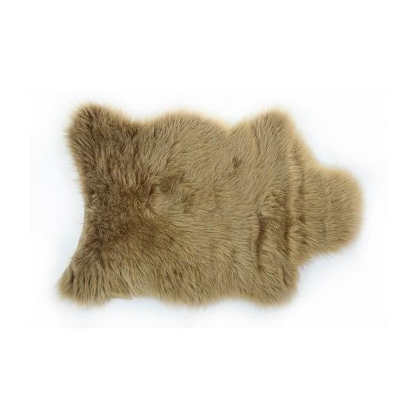 Kožušinový koberec Apolena, 70x100cm, hnedý